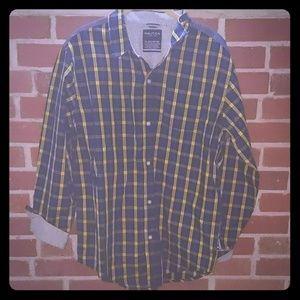 🆕 Nautica Boys XL Button Down Shirt